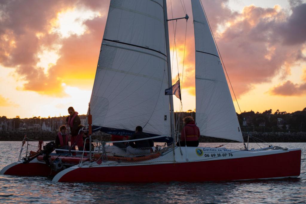En catamaran ©DERENNES Yannick