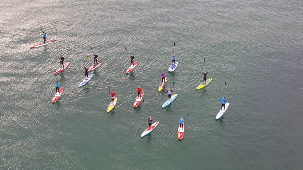 Endless summer paddle contest