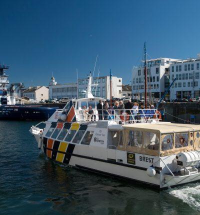 la rade de Brest avec vue sur le port ©ronan gladu