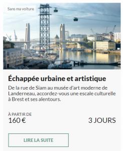 Échappée urbaine et artistique