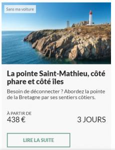 La pointe Saint‑Mathieu, côté phare et côté îles