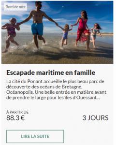 Escapade maritime en famille