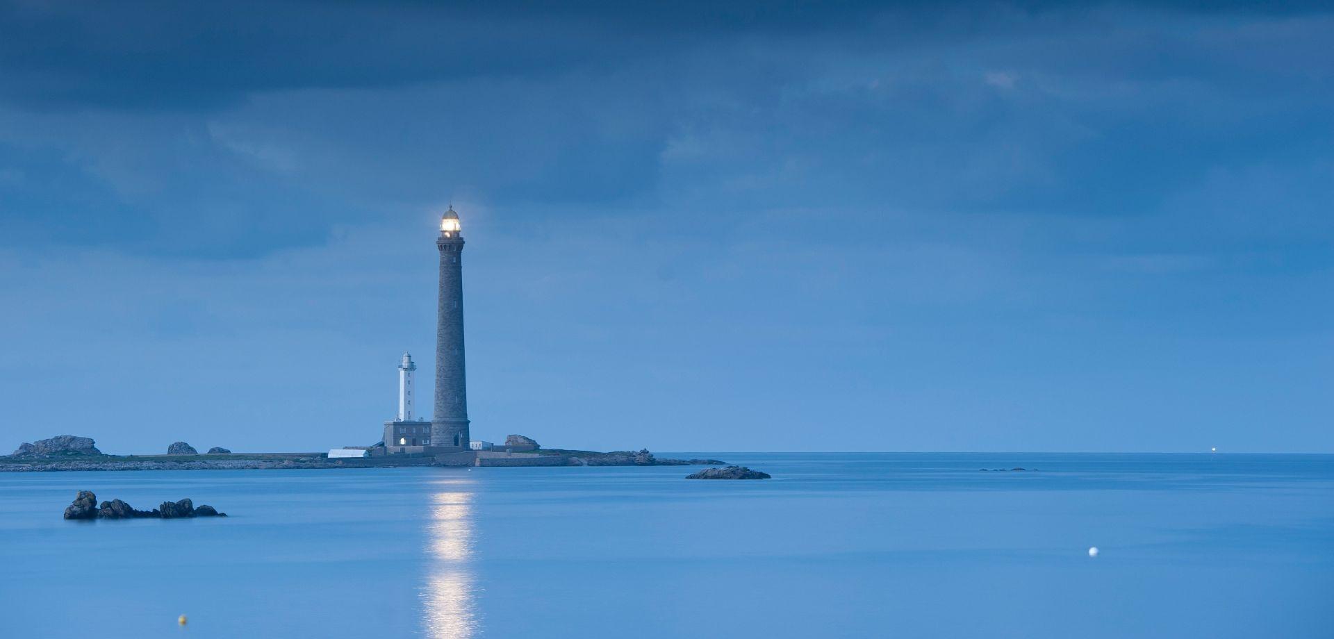Le phare de l'île Vierge ©Emmanuel Berthier
