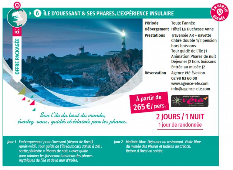 L'île d'Ouessant et ses phares, l'expérience insulaire