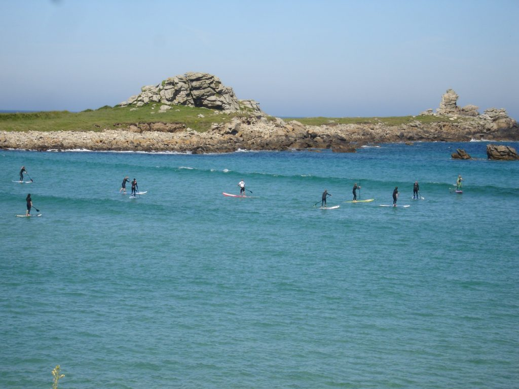Stand up paddle - © Tourisme en Iroise - DSC09065