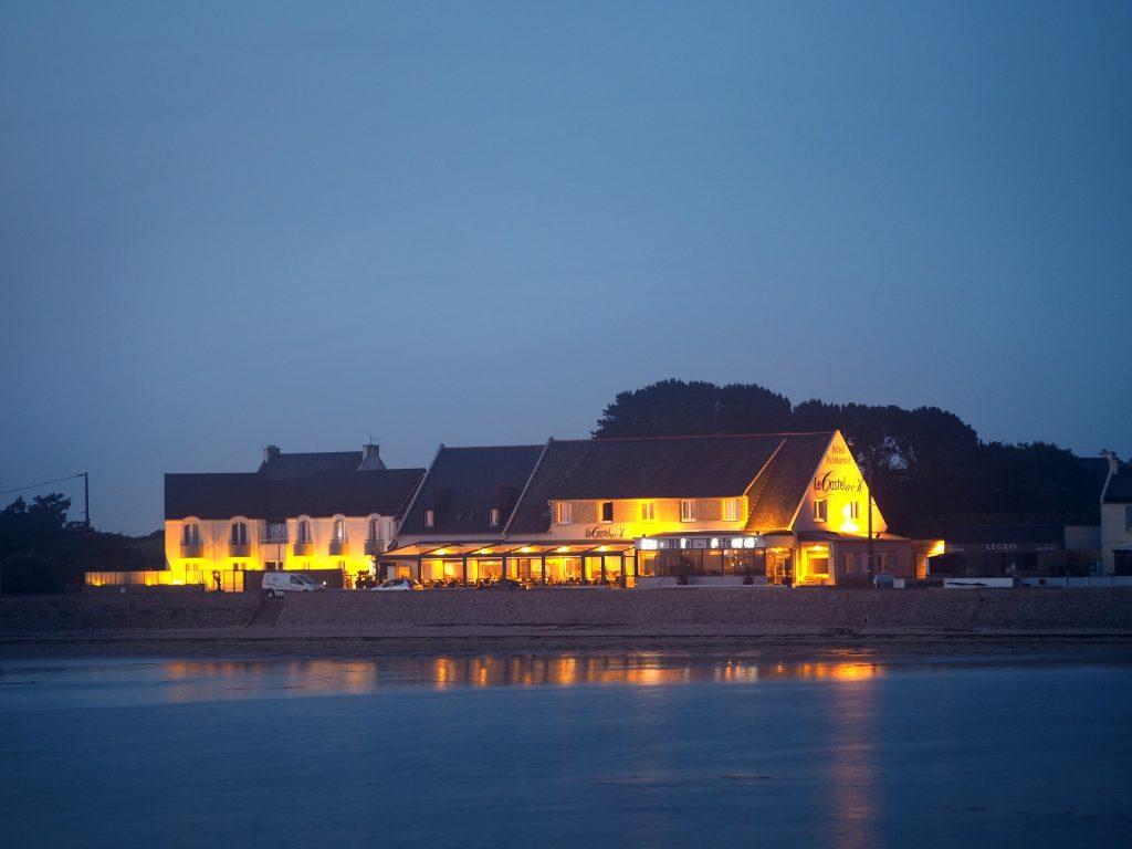 Hotel Restaurant Le Castel Ac'h © O. Dany