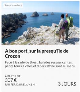 A bon port, sur la presqu'île de Crozon
