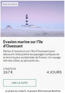 Evasion marine sur l'île d'Ouessant